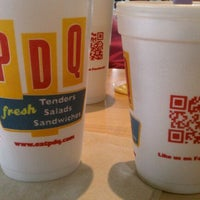 Photo taken at PDQ Tenders Salads & Sandwiches by Greg M. on 12/16/2011