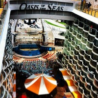 Photo taken at Royal Caribbean Oasis of the Seas by Vranz V. on 6/2/2012