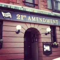 Photo taken at 21st Amendment by Jonathon G. on 5/26/2012