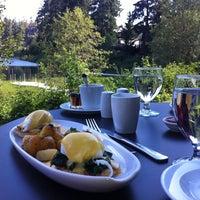 Photo taken at Nita Lake Lodge by Joel H. on 8/21/2012