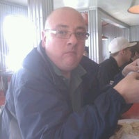 Photo taken at Donut Dinette by B N. on 3/1/2012