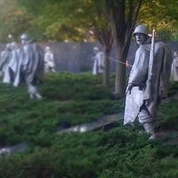 Photo taken at Korean War Veterans Memorial by Nagzah A. on 10/7/2011