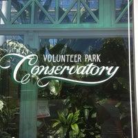 Photo taken at Volunteer Park Conservatory by John K. on 7/12/2012