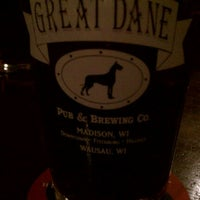 Photo taken at The Great Dane Pub & Brewing Company by Mark A. on 2/23/2011
