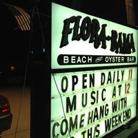 Photo taken at Flora-Bama Lounge, Package, and Oyster Bar by Sissi G. on 5/27/2012