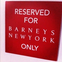 Photo taken at Barneys New York by Nadia T. on 11/30/2011