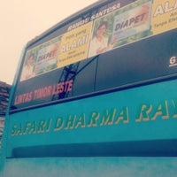 Photo taken at Safari Dharma Raya (OBL) by Alvian on 6/10/2012