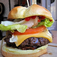 Photo taken at Butcher & The Burger by Chicago Tribune on 6/22/2012