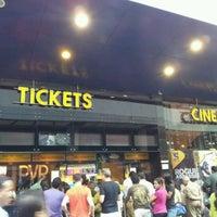 Photo taken at PVR Cinemas Kotak IMAX by Kashif K. on 12/3/2011