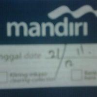 Photo taken at Bank Mandiri Pondok Indah Plaza by RUDI S. on 12/21/2011
