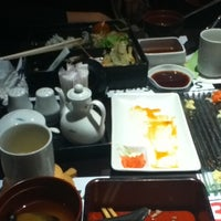 Photo taken at Midori Japanese Restaurant by Intan T. on 8/21/2012