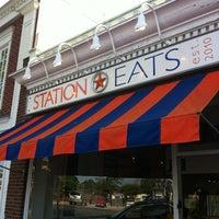 Photo taken at Station Eats by glugli E. on 6/10/2012