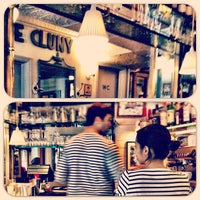 Photo taken at Cafe Cluny by Alex M. on 6/3/2012