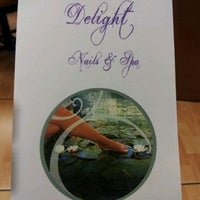 Photo taken at Delight Nails and Spa by DAUNSLEY d. on 6/22/2012