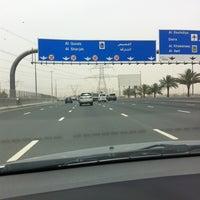 Photo taken at Sheikh Mohammed Bin Zayed Road شارع الشيخ محمد بن زايد by Dette 🇵🇭 on 4/22/2012