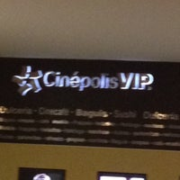Photo taken at Cinépolis VIP by Arturo B. on 4/2/2012