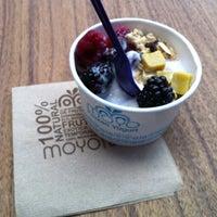 Photo taken at Moyo Frozen Yogurt by Michelle V. on 3/9/2012