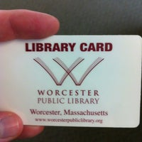 Photo taken at Worcester Public Library by Gillian R. on 7/14/2012