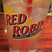 Photo taken at Red Robin Gourmet Burgers by G on 7/6/2012