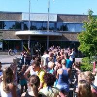 Photo taken at Zwembad Sportfondsenbad Nijmegen-West by Sjaco L. on 8/19/2012