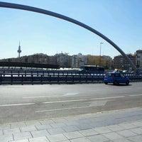 Photo taken at Puente de Ventas by Rafael Enrique V. on 3/13/2012