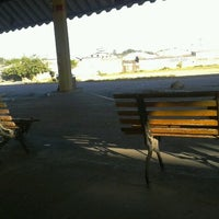 Photo taken at Terminal Rodoviário de Itatiba by Nadja J. on 4/17/2012