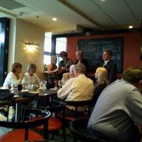 Photo taken at Cafe Dupont by Landa P. on 5/16/2012