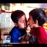 Photo taken at Zangrandi Ice Cream by Z. I. on 8/23/2012