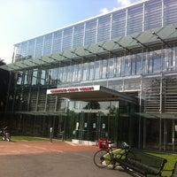 Photo taken at Cambridge Public Library by Bibi C. on 6/21/2012