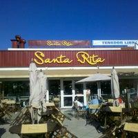 Photo taken at Marisquería Santa Rita by . .. on 4/2/2012