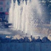 Photo taken at Сквер им. Дзержинского by Katerina on 9/3/2012