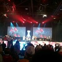 Photo taken at 2012 Scotiabank NHL Fan Fair by Ashley M. on 1/28/2012