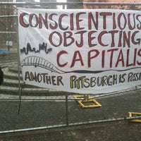 Photo taken at #OccupyPittsburgh by Hope Anne N. on 12/29/2011