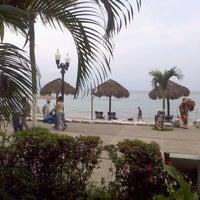 Photo taken at Playa de los Muertos by Sr. Fox C. on 9/24/2011