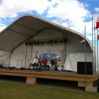 Photo taken at The Stage @ Balloon Fiesta Park by Marlon L. on 10/6/2011