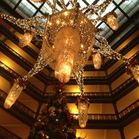 Photo taken at The Brown Palace Hotel and Spa, Autograph Collection by Ben E. on 12/25/2011