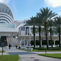 Photo taken at Orange County Convention Center South Concourse by Habana P. on 8/4/2012