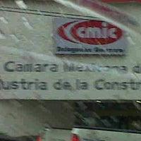 Photo taken at Camara Mexicana de la Industria de la Construcción by Osvaldo L. on 7/6/2012