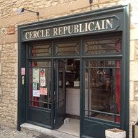 Photo taken at Cercle Républicain de Gordes by Matt on 6/30/2012