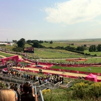 Photo taken at London 2012 venue - Hadleigh Farm by Mike M. on 8/12/2012