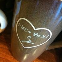 Photo taken at Caribou Coffee by Liz on 8/4/2012