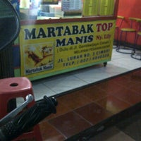 Photo taken at Martabak TOP Ny. Lily by Rifai A. on 1/18/2012