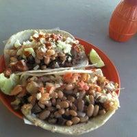 Photo taken at Tacos El Remolque by Víctor C. on 12/7/2011