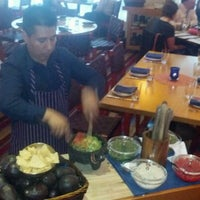 Photo taken at Rosa Mexicano by Andrew H. on 5/23/2012
