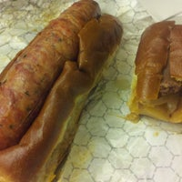 Photo taken at Haute Sausage by Adam G. on 5/18/2012