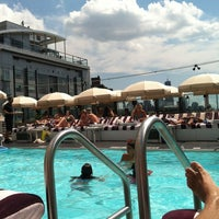 Photo taken at Soho House by Victor R. on 7/10/2012