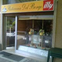 Photo taken at Pasticceria del Borgo by Antonio T. on 5/6/2012