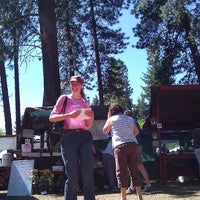 Photo taken at Kootenai Farmer's Market by Thom G. on 6/4/2011