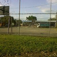 Photo taken at Cancha de Baloncesto  del Jobo by Julian O. on 1/12/2012