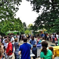 Photo taken at Food Truck Friday @ Tower Grove Park by Aaron B. on 8/11/2012